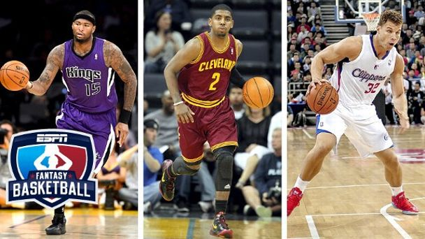 DeMarcus Cousins, Kyrie Irving and Blake Griffin