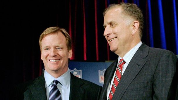 Roger Goodell and Paul Tagliabue