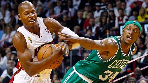 Ray Allen, Paul Pierce