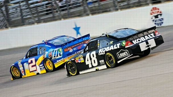 Brad Keselowski, Jimmie Johnson