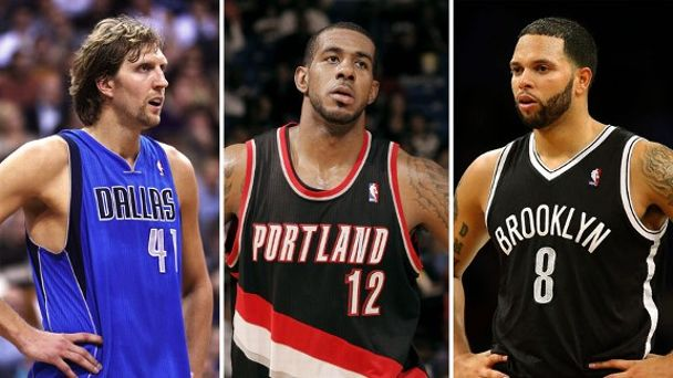 Dirk Nowitzki, LaMarcus Aldridge, Deron Williams
