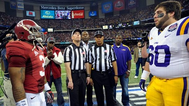 Alabama Crimson Tide and LSU Tigers