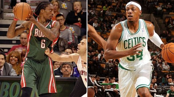 Marquis Daniels/Paul Pierce