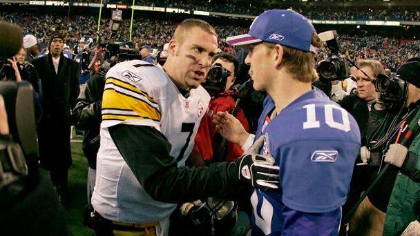 Eli Manning, Ben Roethlisberger