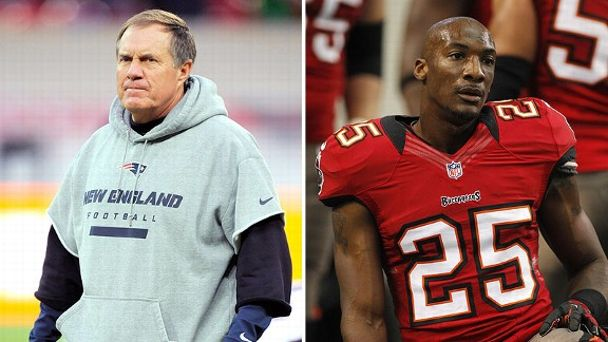 Bill Belichick and Aqib Talib