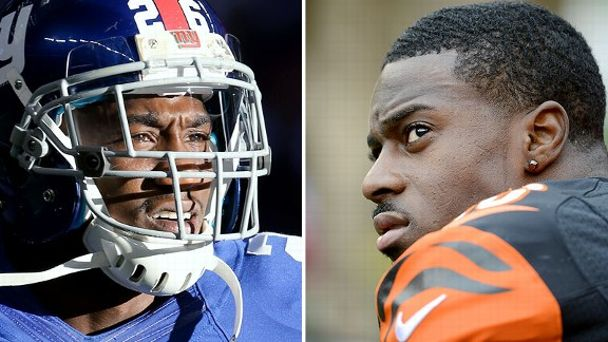 Antrel Rolle and A.J. Green