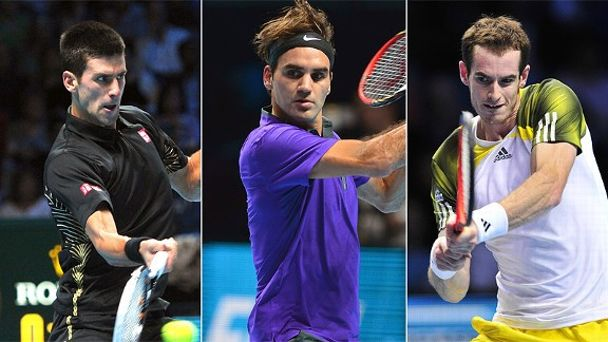 Novak Djokovic/Roger Federer/Andy Murray