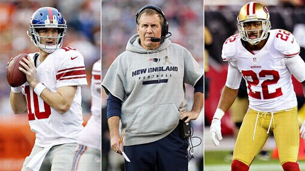 Manning & Belichick & Rogers