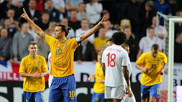 Is Zlatan Ibrahimovics overhead kick 4th goal against England, the greatest goal EVER?