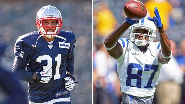 Aqib Talib and Reggie Wayne