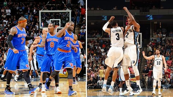 New York Knicks and Memphis Grizzlies