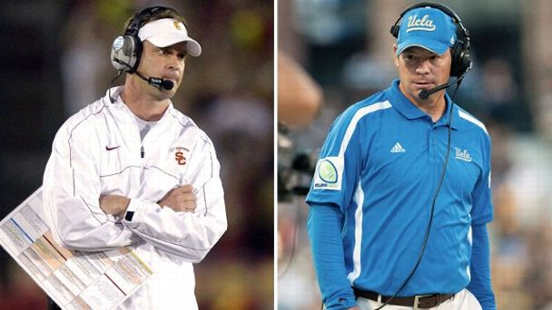 Lane Kiffin, Jim Mora