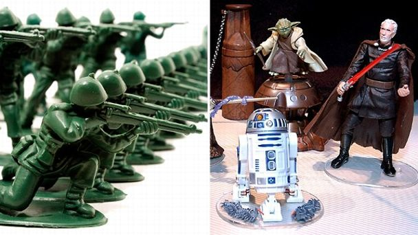 Army Men & Star Wars Toys