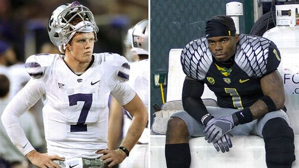 Collin Klein and Josh Huff