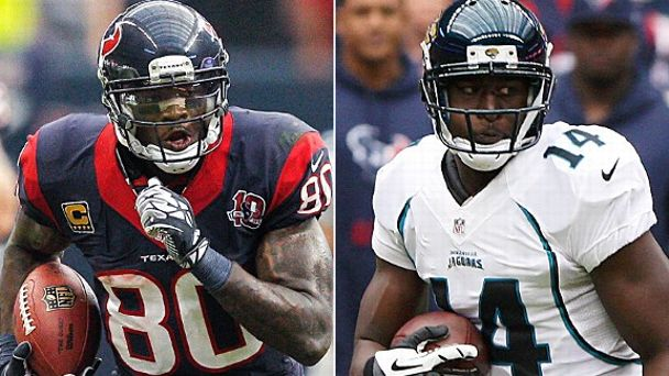 Andre Johnson and Justin Blackmon