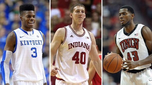 Nerlens Noel, Cody Zeller and Mike Moser