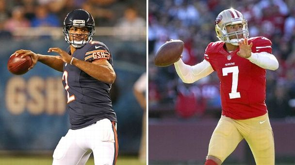 Jason Campbell and Colin Kaepernick