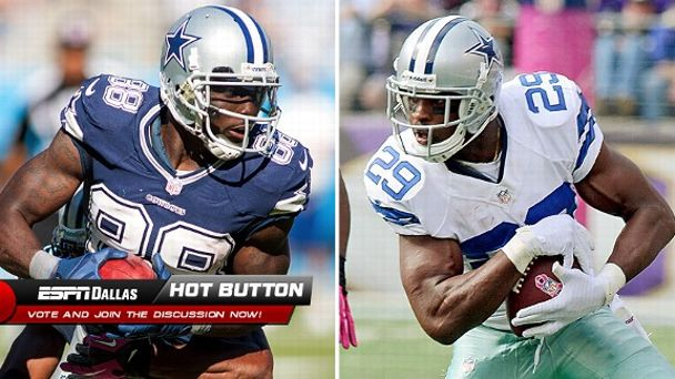 Dez Bryant and DeMarco Murray