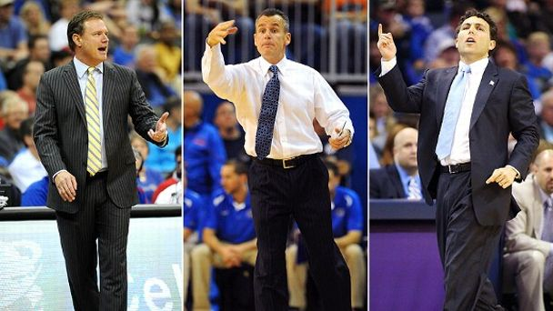 Bill Self, Billy Donovan, Josh Pastner