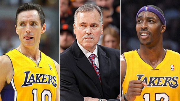Steve Nash, Mike D'Antoni & Dwight Howard