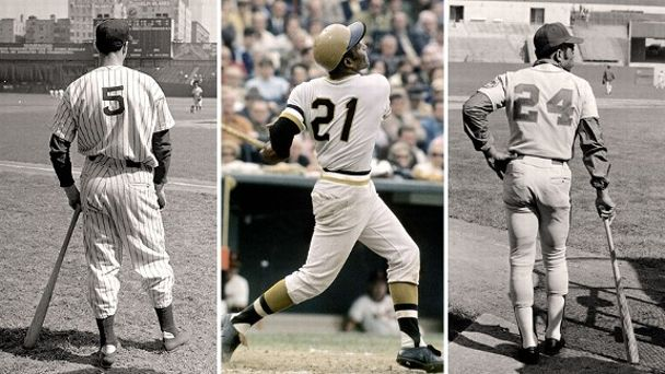 DiMaggio-Clemente-Mays