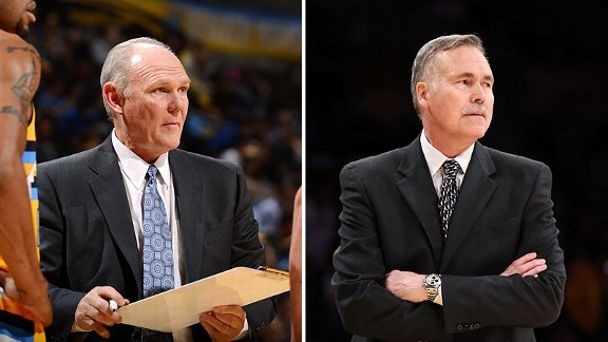 George Karl and Mike D'Antoni