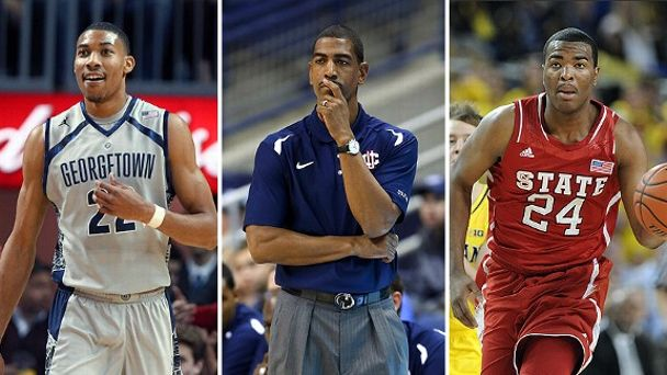Otto Porter, Kevin Ollie and T.J. Warren