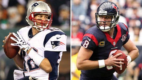Tom Brady, Matt Schaub