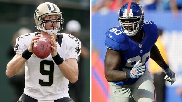 Drew Brees, Jason Pierre-Paul