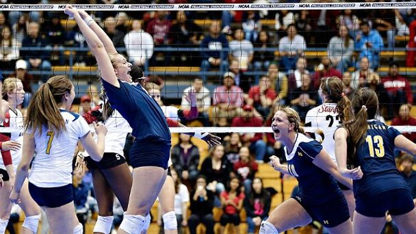 Michigan Womens Volleyball