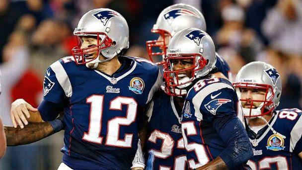 Patriots Celebrating