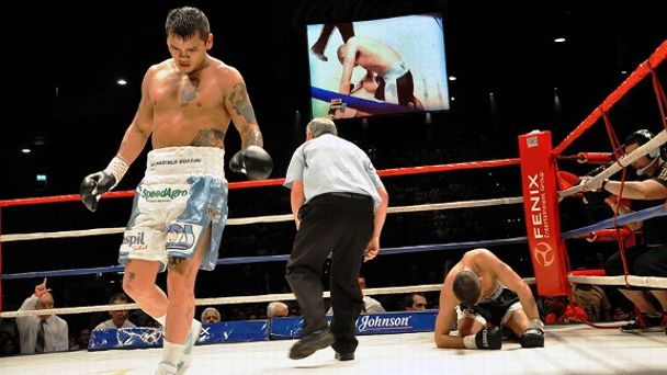 Marcos Maidana and Angel Martinez