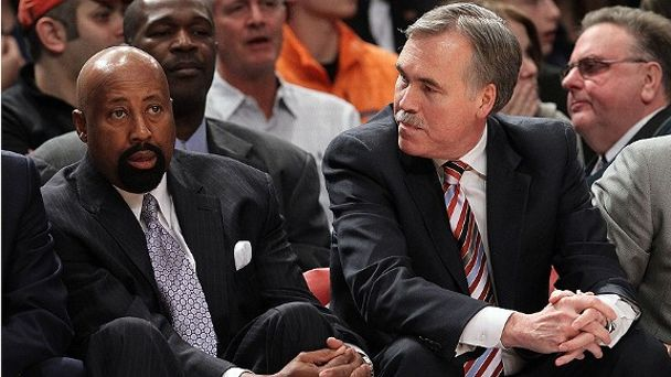 Mike D'Antoni and Mike Woodson