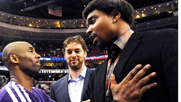 Kobe Bryant, Pau Gasol & Andrew Bynum