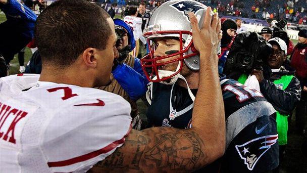 Colin Kaepernick/Tom Brady