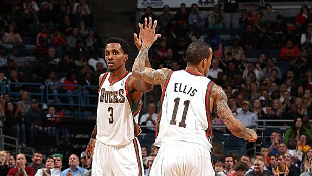 Brandon Jennings and Monta Ellis