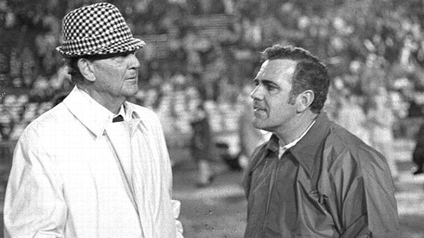 Ara Parseghian and Bear Bryant