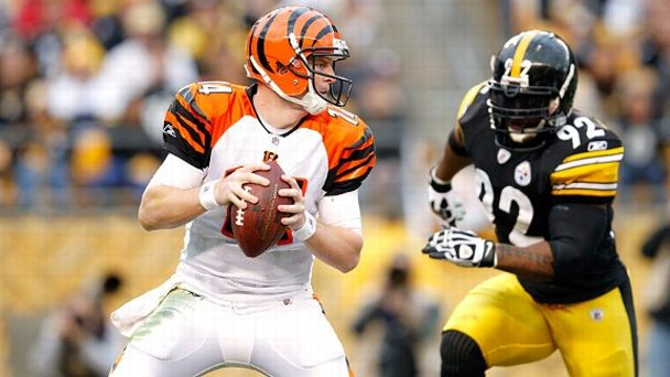 James Harrison and Andy Dalton
