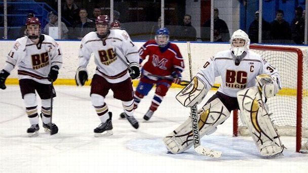 BC High hockey Peter Cronin