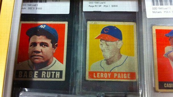 Babe Ruth, Leroy Paige