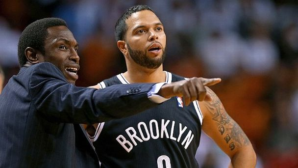 Avery Johnson and Deron Williams