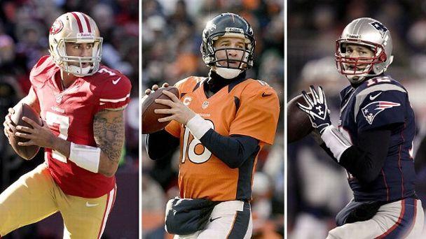 Kaepernick,Manning, Brady