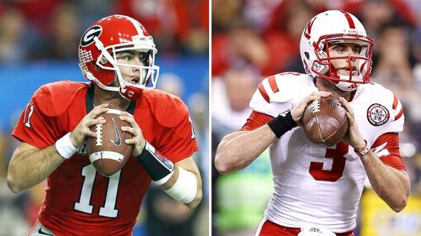 Aaron Murray and Taylor Martinez