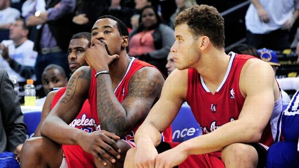Los Angeles Clippers dejection