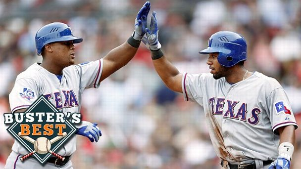 Adrian Beltre and Elvis Andrus