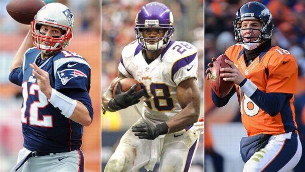 Tom Brady/Adrian Peterson/Peyton Manning