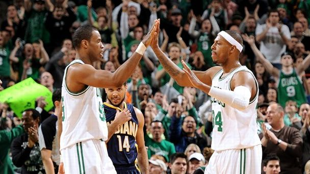Jason Collins and Paul Pierce