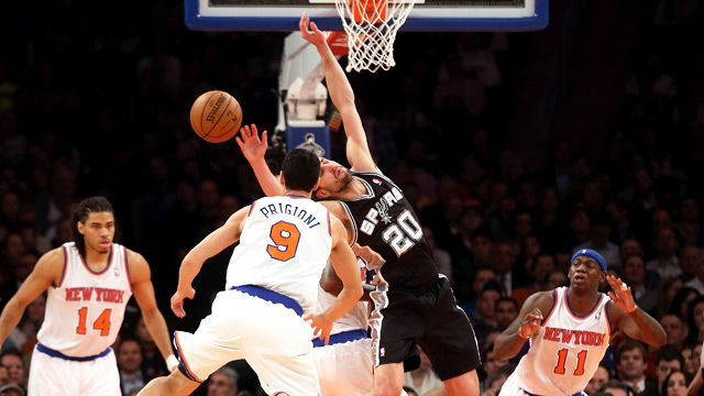 About Last Night: Spurs Rusted Out