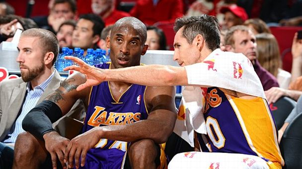 Kobe Bryant and Steve Nash