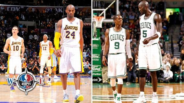 Lakers and Celtics
